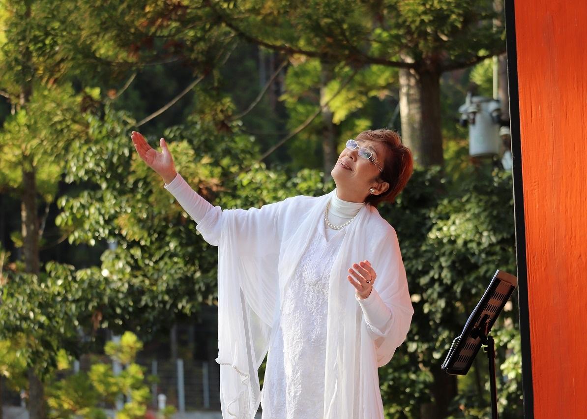 音楽の森 森への贈り物 天川村