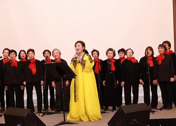 音楽の森 韓国慶州記念式典